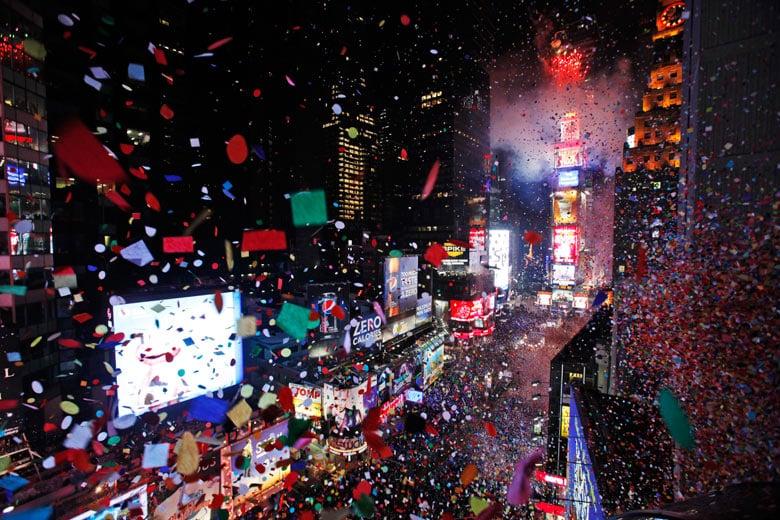 Réveillon e virada do ano em Nova York