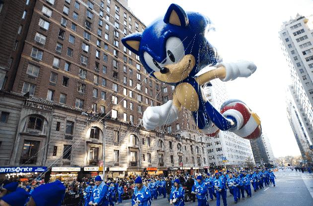 Parada do dia de Ação de Graças da Macy's em Nova York
