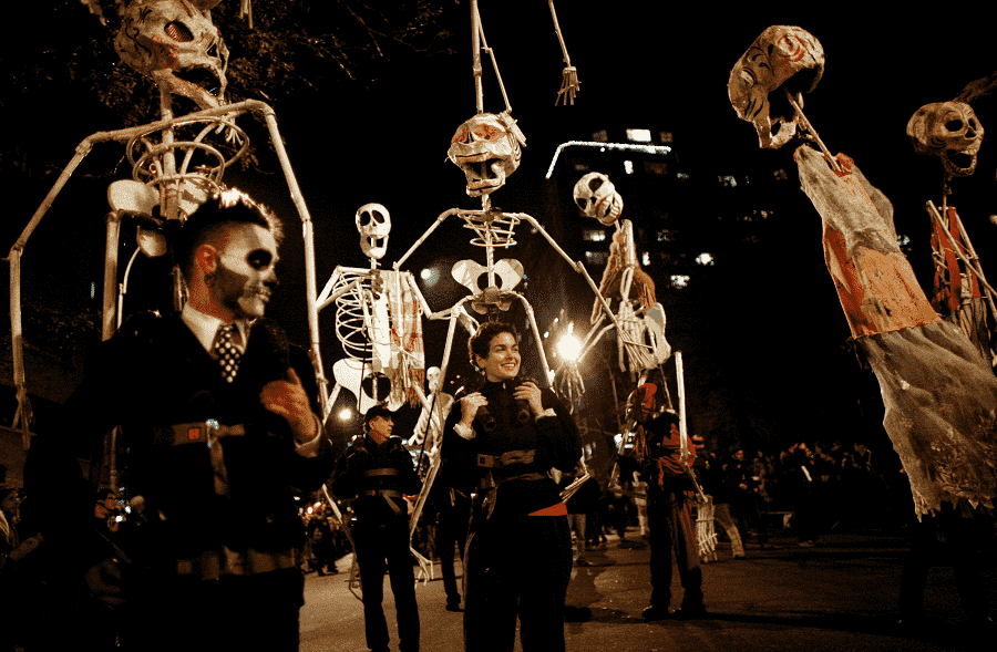 Desfile em Greenwich Village em Nova York