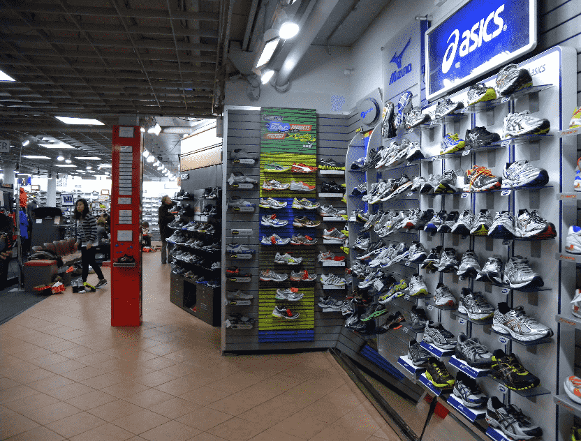 Paragon Sports Store em Nova York