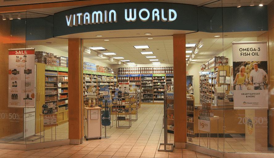 Vitamin World em Nova York