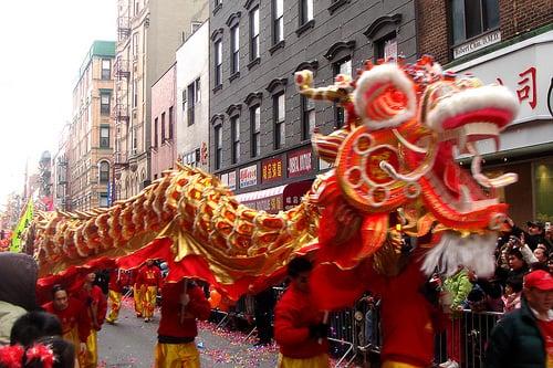 Ano-Novo chinês em Nova York
