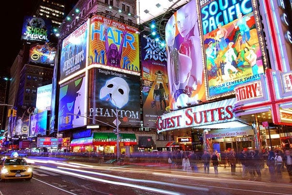 Assistir a um show da Broadway em Março