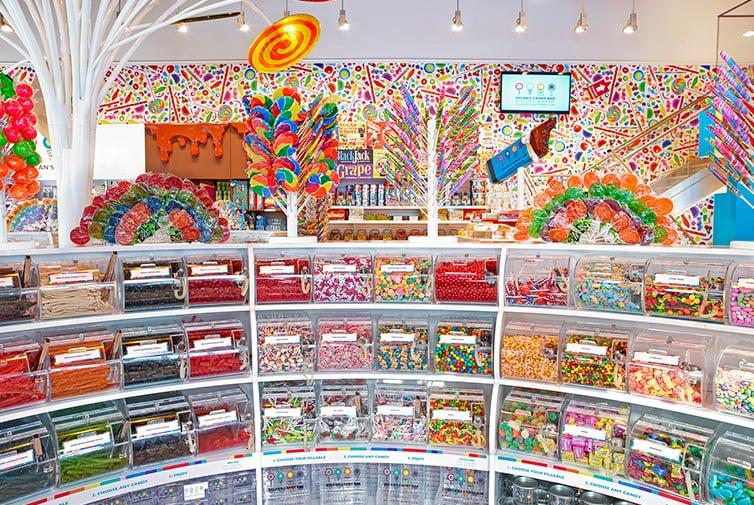 Como é a loja Dylan's Candy Bar em Nova York