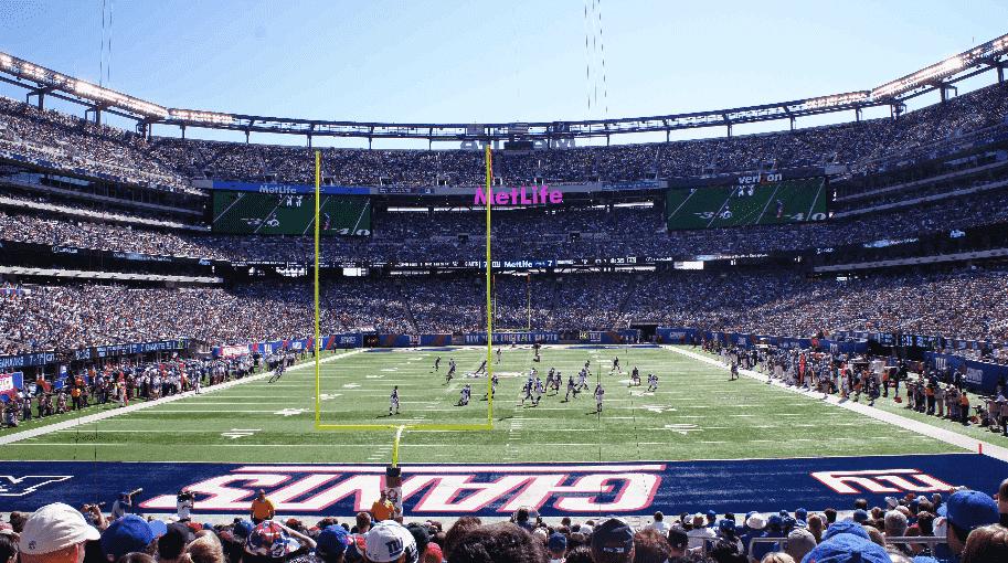 Jogos de futebol americano do NY Giants