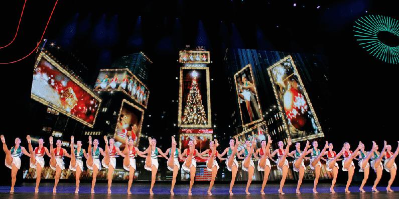 Show Radio City Christmas Spectacular em Nova York