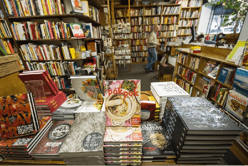 Livraria Kitchen Arts & Letters em Nova York