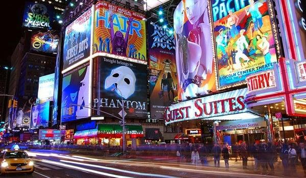 Broadway em Nova York