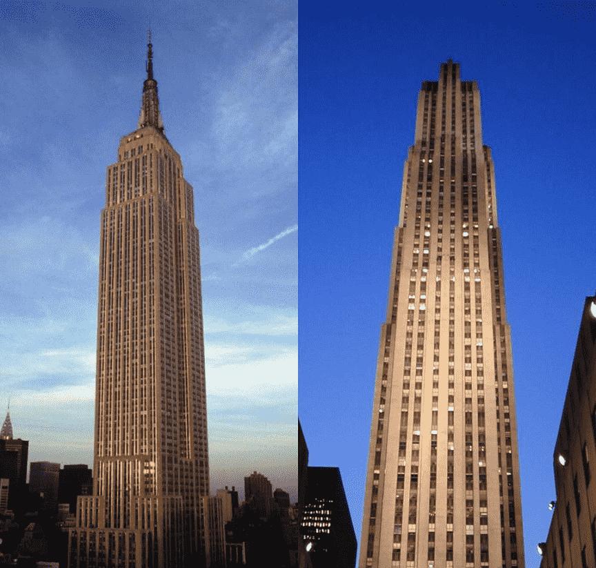 Ir no Empire State Building ou Top of the Rock em Nova York?