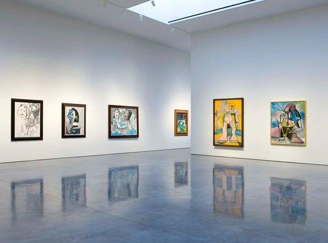 Galeria de arte Gagosian Gallery em Nova York