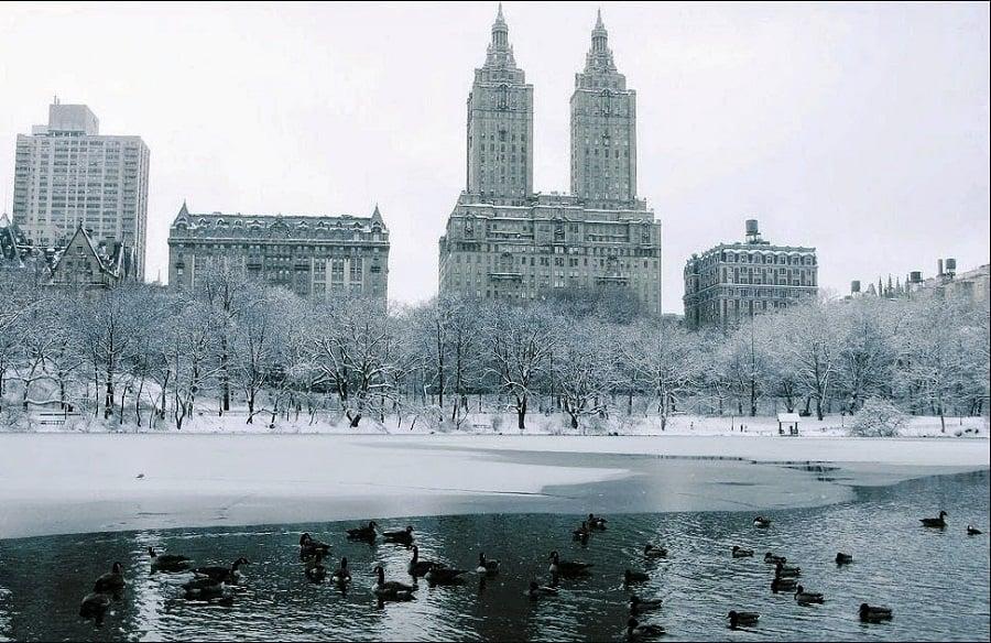 Nova York no inverno