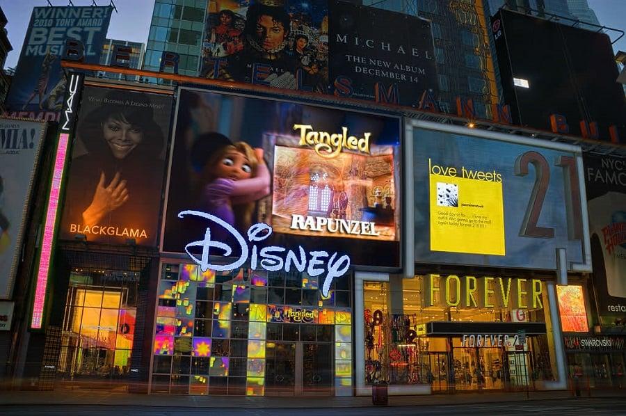 Disney Store em Nova York