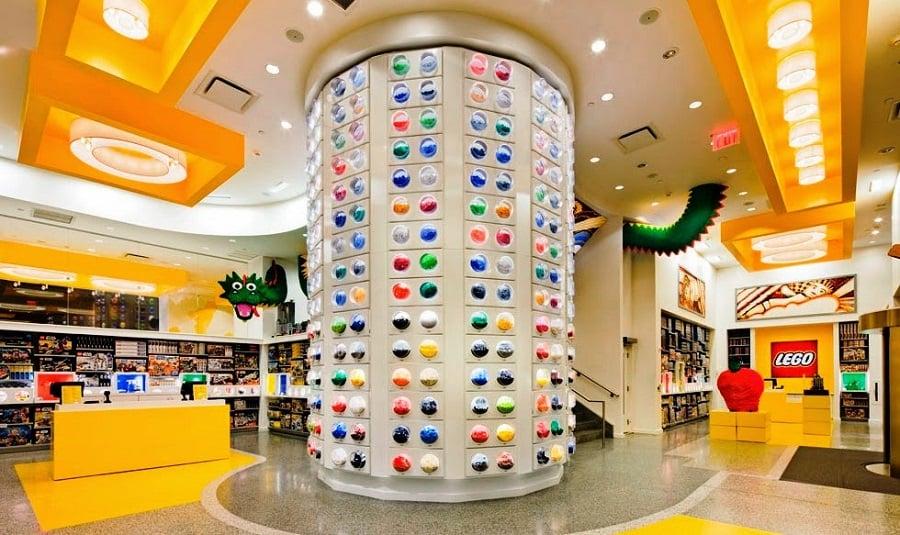 Lego Store em Nova York