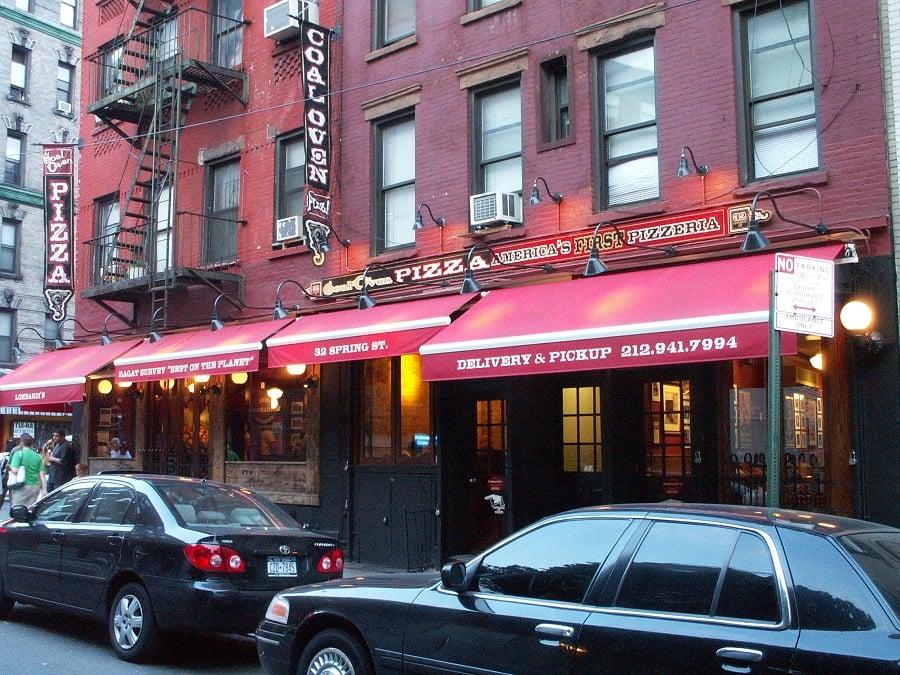 Lombardi's Pizza em Nova York