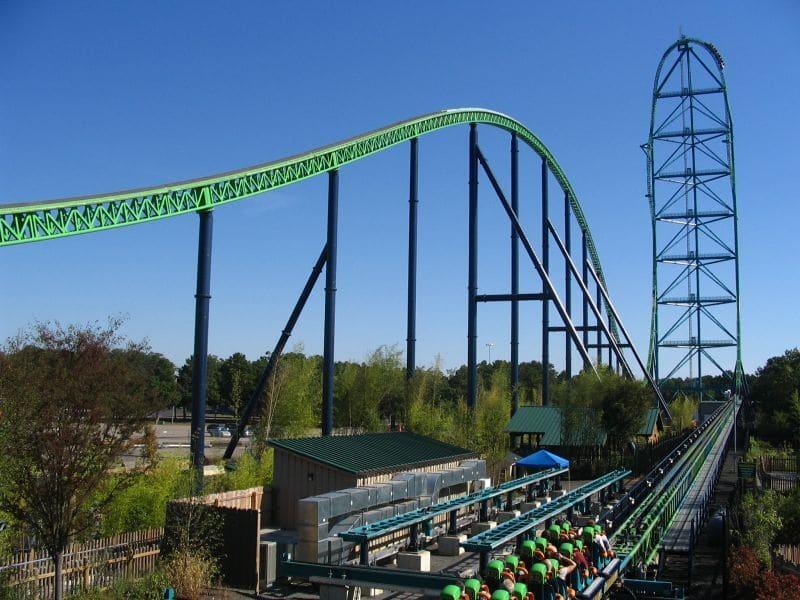 Kingda Ka - Six Flags Great Adventure em New Jersey