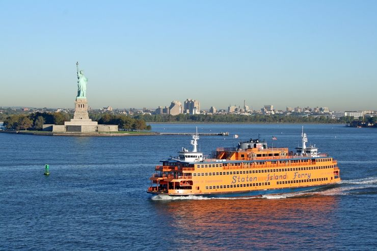 Staten Island Ferry em Nova York