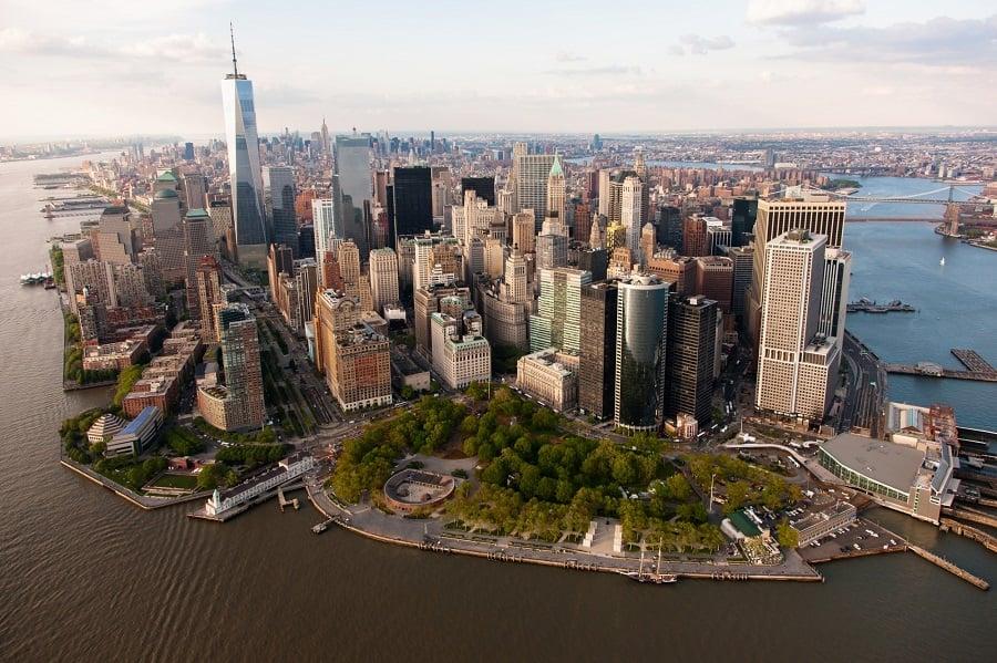 Battery Park em Nova York