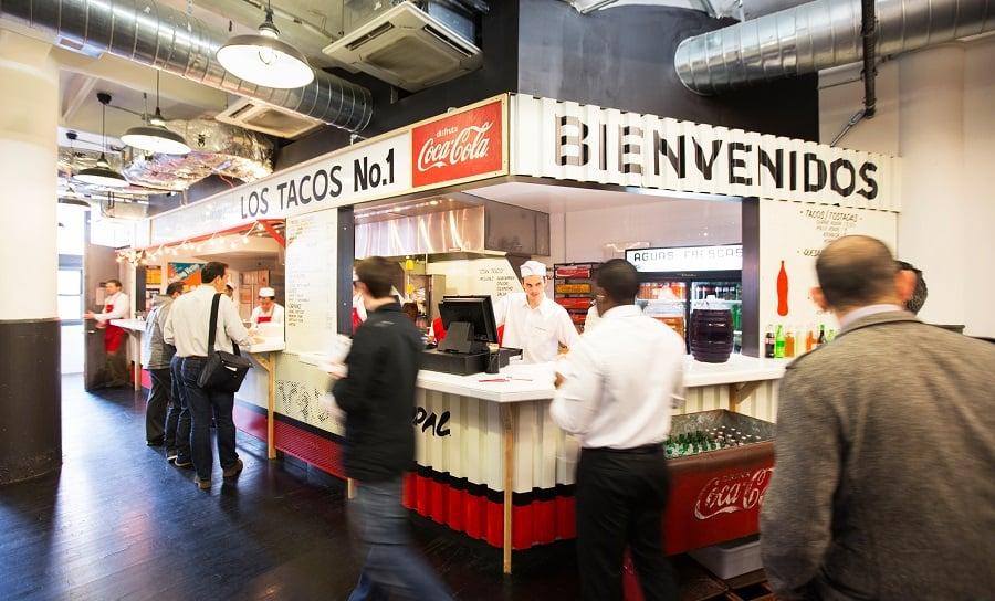Los Tacos no1 em Nova York