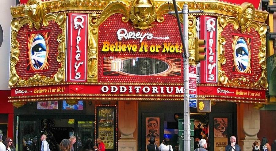 Museu Ripley's Believe it or Not em Nova York