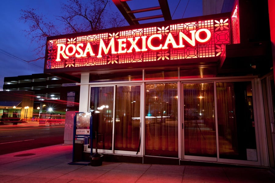 Rosa Mexicano em Nova York