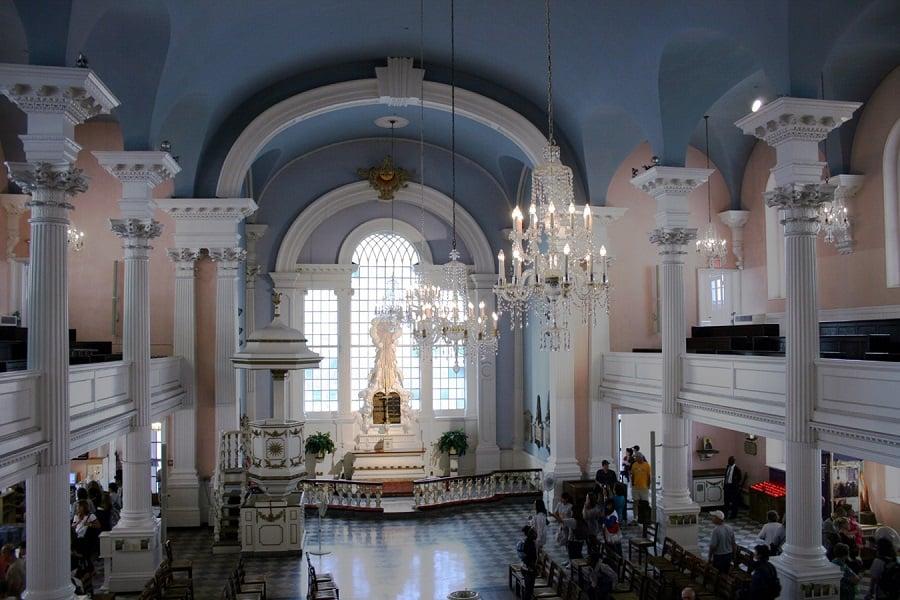 St. Paul's Chapel em Nova York