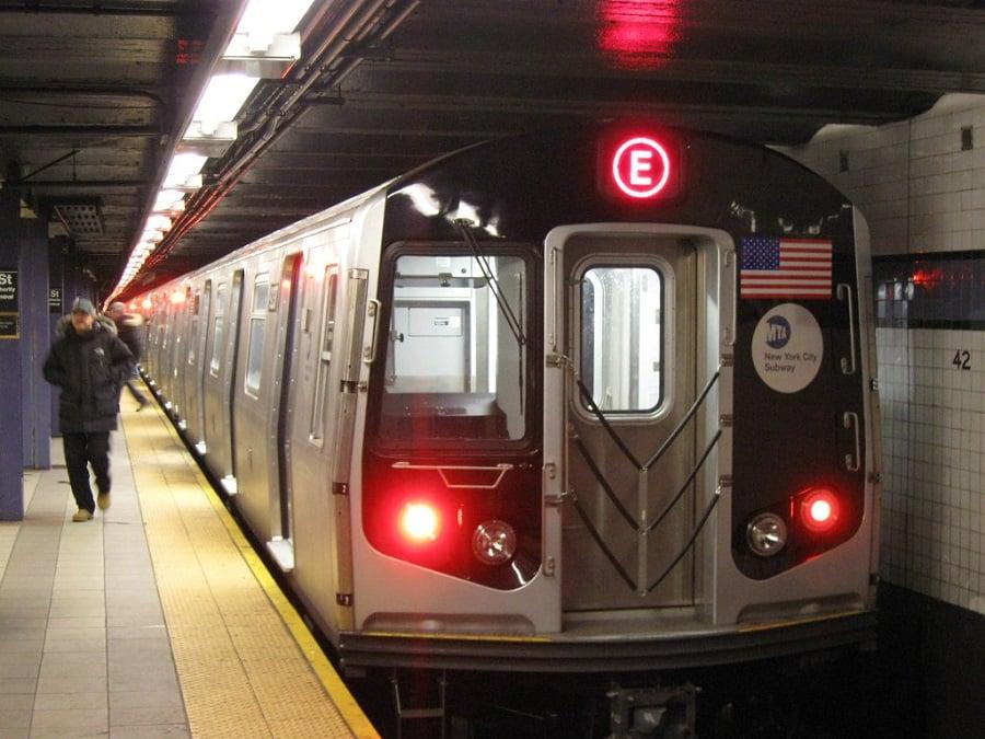 Metrô dirigir em Nova York
