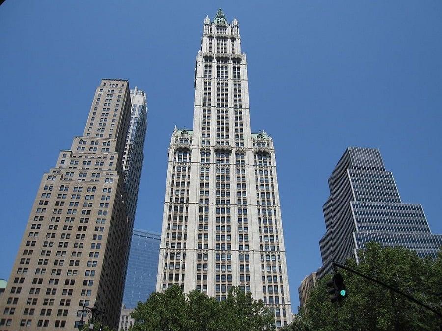 Woolworth Building em Nova York