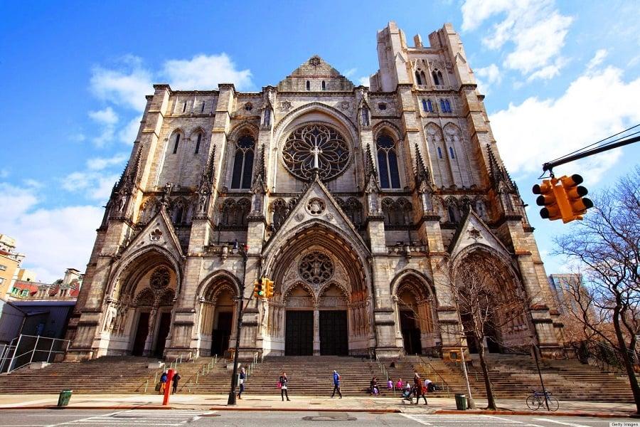 Catedral de Saint John, o divino em Nova York
