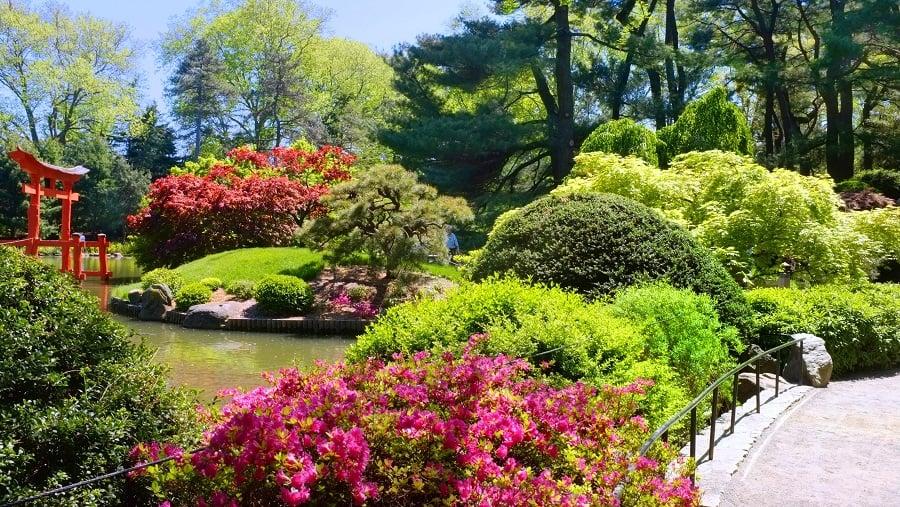 Brooklyn Botanic Garden em Nova York