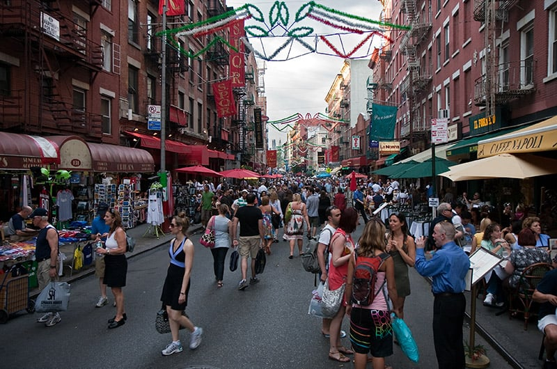 Little Italy em Nova York: Restaurantes italianos