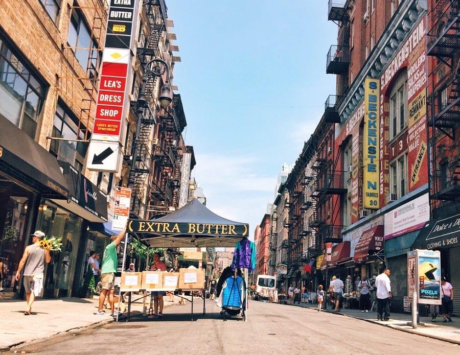 Orchard Street em Nova York