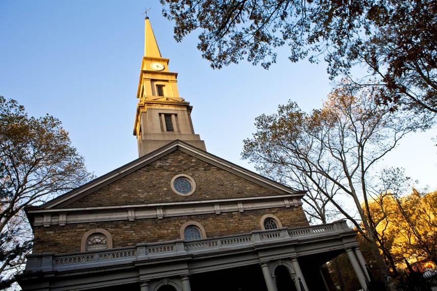 St. Mark's-in-th-Bowery Church em Nova York