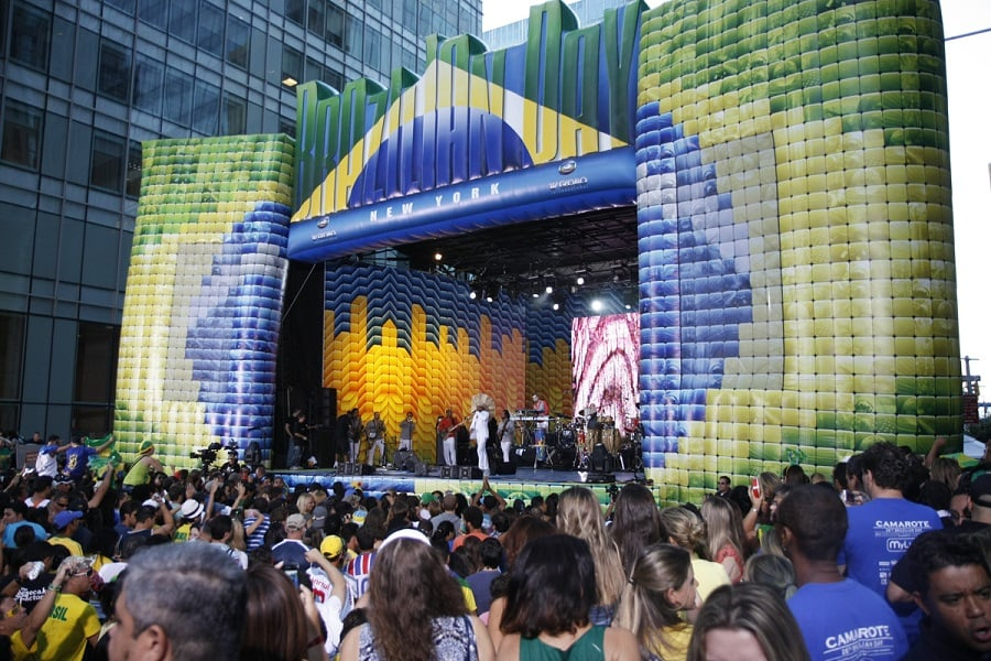 Brazilian Day na Little Brazil em Nova York