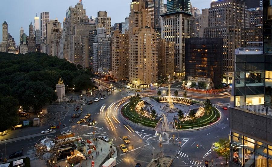 Columbus Circle em Nova York