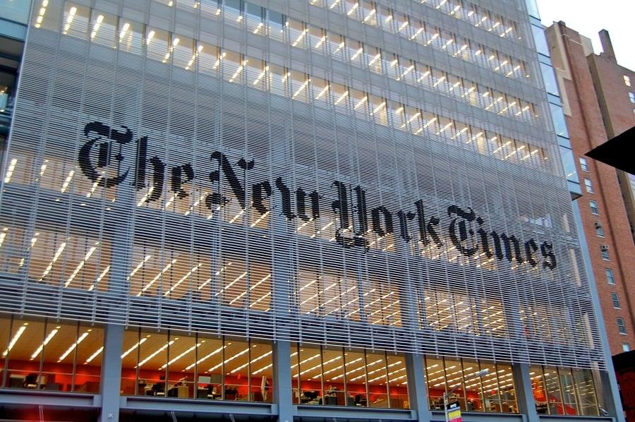 The New York Times Building em Nova York