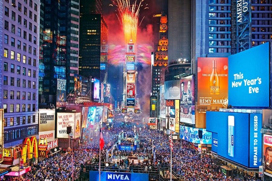Ano Novo na Times Square