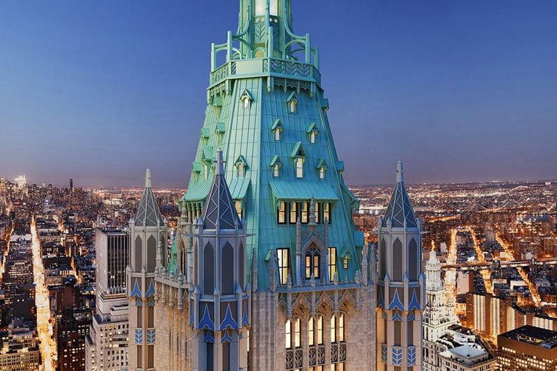 Arranha Céu Woolworth Building em Nova York