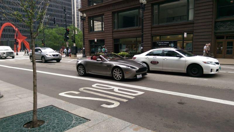 Carro em Chicago