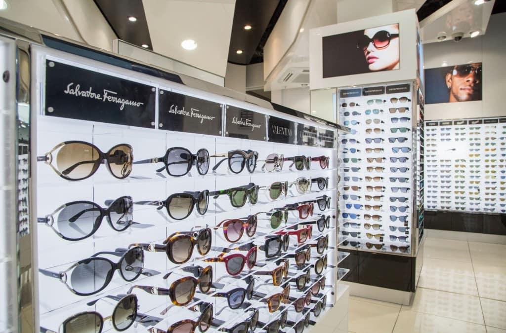 Onde comprar óculos escuros em Chicago