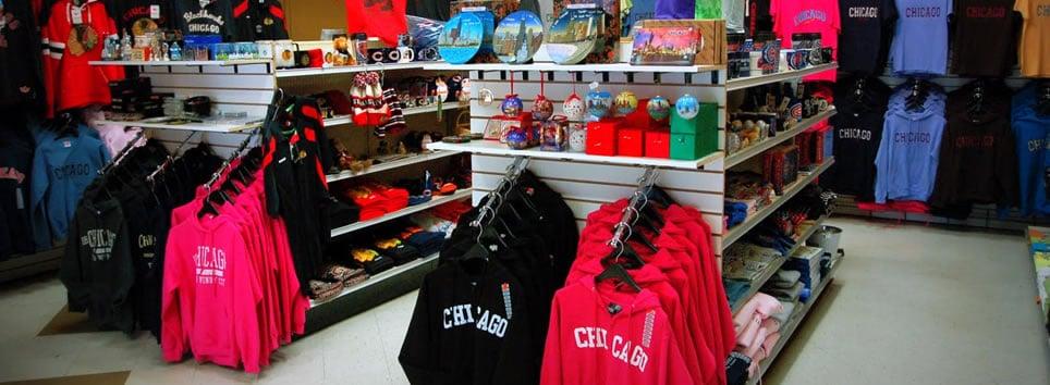 Loja Souvenir City em Chicago