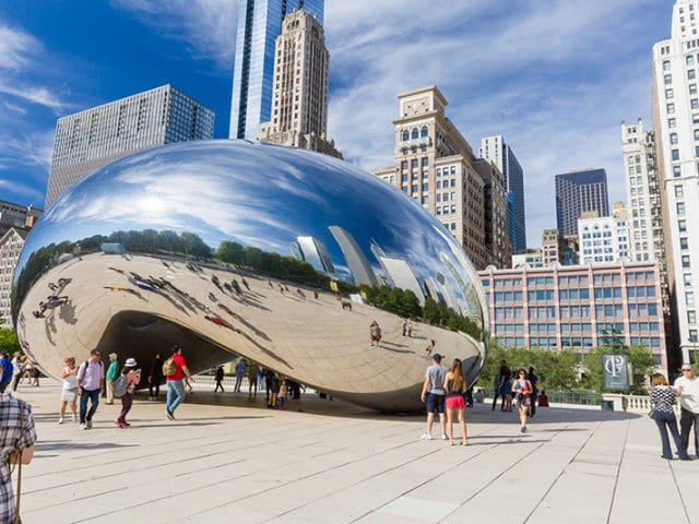 Cloud Gate em Chicago