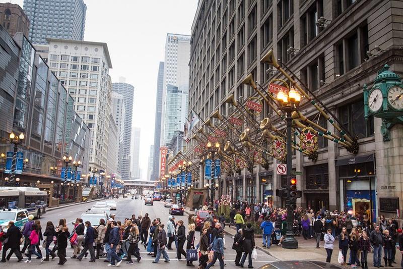 Michigan Avenue em Chicago