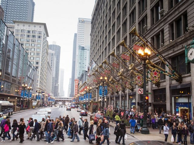 Magnificent Mile em Chicago