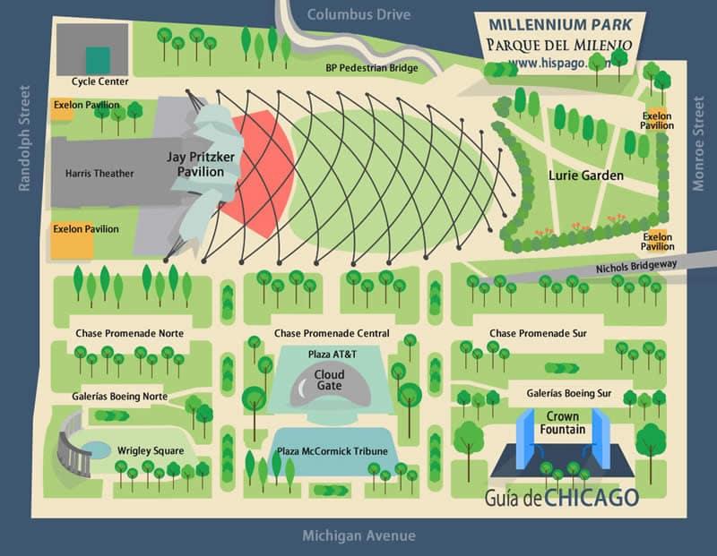 Millennium Park em Chicago