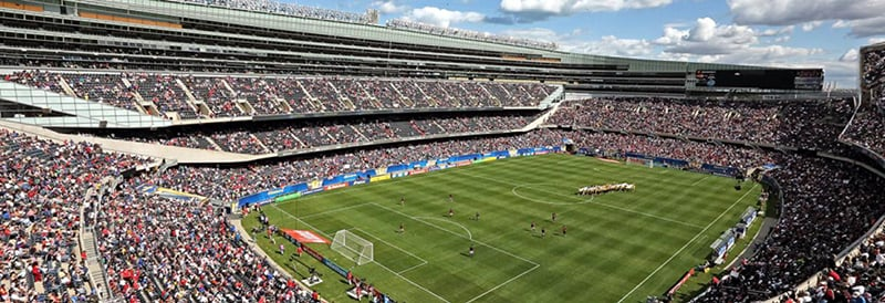 Estádio Soldiers Field de Chicago