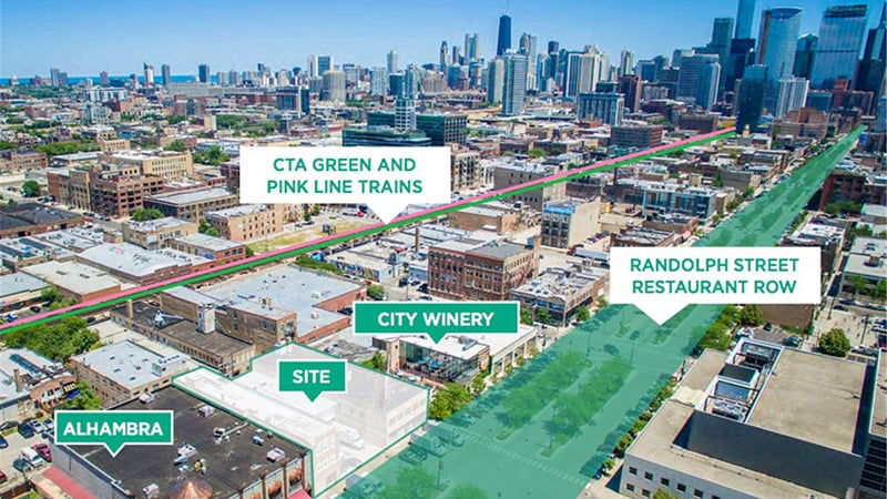 Randolph Row em Chicago