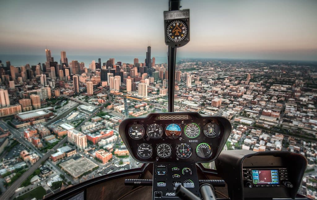 Passeio de Helicóptero em Chicago