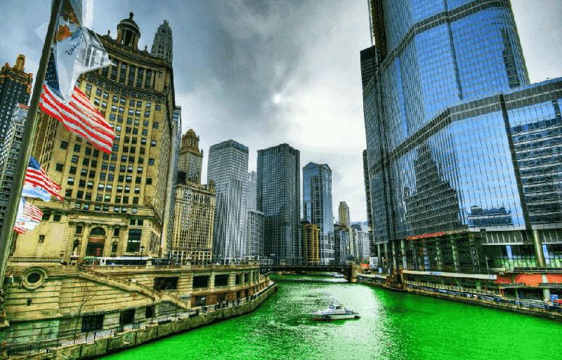Dia de São Patrício em Chicago