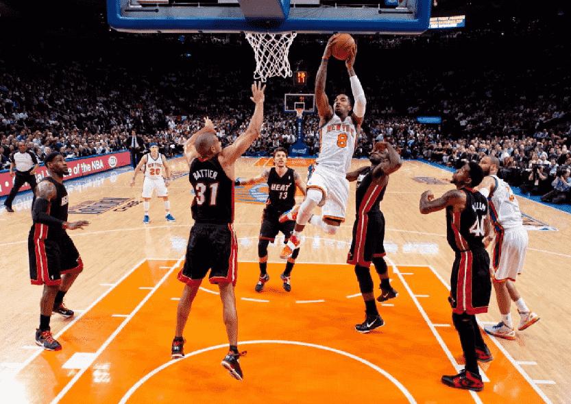 Como são os jogos do New York Knicks da NBA?