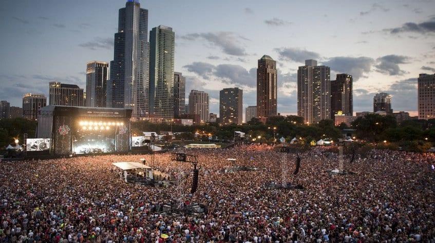 Festival Lollapalooza em Chicago